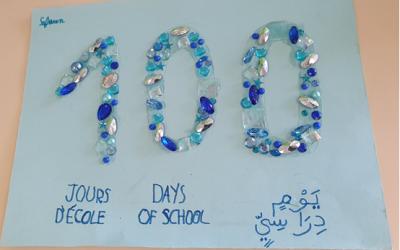 Les 100 jour d'école